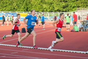 Nils Papenfuß im 800 Meter Lauf